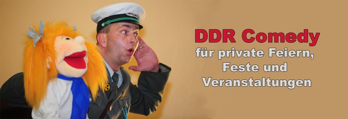 DDR Komiker buchen