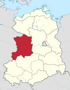 Bezirk Magdeburg Karte