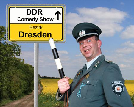 DDR Komiker und Comedy Alleinunterhalter in Dresden